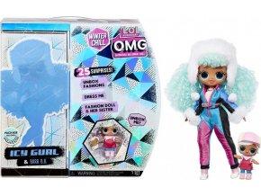 L.O.L. SURPRISE Zimní velká ségra OMG - Icy Gurl a Brrr B.B.