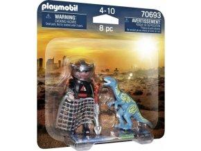 PLAYMOBIL 70693 DuoPack Velociraptor a Lovec