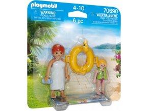 PLAYMOBIL 70690 DuoPack Koupání v Aquaparku