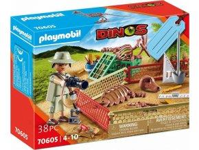 PLAYMOBIL 70605 Dárkový set: Paleontolog
