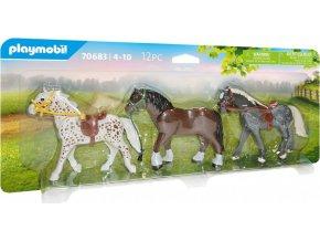 PLAYMOBIL 70683 Tři koně