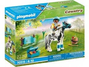 PLAYMOBIL 70515 Poník Lewitzer