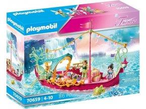 PLAYMOBIL 70659 Romantická loď pro víly