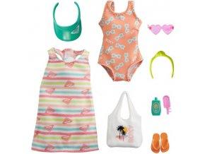 Barbie Roxy obleceni pro panenku plavky a saty