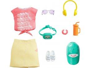 Barbie Roxy obleceni pro panenku tricko a sukne