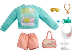 Barbie Roxy obleceni pro panenku tricko a kratasy