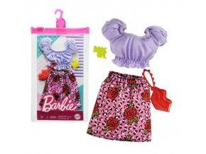 Barbie oblečení pro panenku na procházku městem