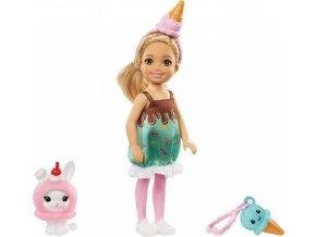 Barbie Chelsea v kostýmu zmrzlina