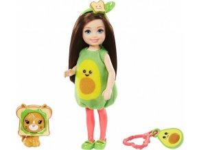 Barbie Chelsea v kostýmu avokádo