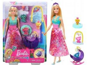 Barbie Dreamtopia Dračí jesle herní set