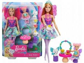 Barbie Dreamtopia Čajová párty herní set