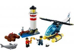 LEGO CITY 60274 Elitní policie zasahuje u majáku
