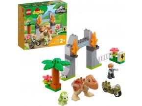 LEGO® DUPLO® Jurassic World™10939 T-Rex a Triceratops na út