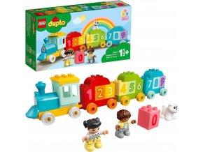 LEGO® DUPLO® My First 10954 Vláček s čísly – Učíme se počíta