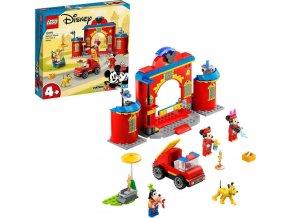 LEGO® Mickey & Friends 10776 Hasičská stanice aauto Mickeyho přátel