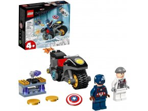 LEGO® Super Heroes 76189 Captain America vs. Hydra