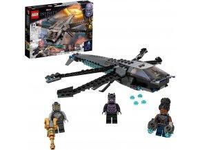 LEGO® Super Heroes 76186 Black Panther adračí letoun