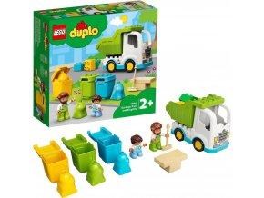 LEGO® DUPLO® Town 10945 Popelářský vůz a recyklování