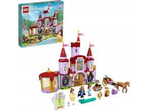 LEGO®   Disney Princess™ 43196 Zámek Krásky azvířete