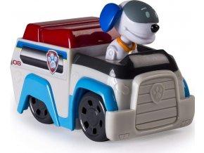Tlapková patrola Robo Dog a malé vozidlo