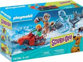 PLAYMOBIL 70706 SCOOBY-DOO! Dobrodružství se sněžným duchem