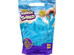 Kinetic sand modrý balení barevného písku 0,9kg