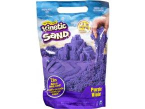 Kinetic sand fialový balení barevného písku