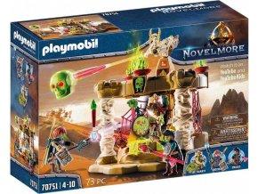 Playmobil 70751 Novelmore chrám armády kostlivců