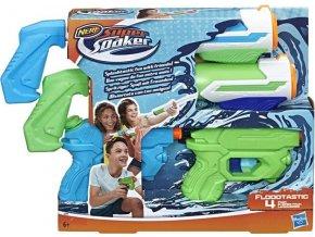 Nerf Super Soaker Floodtastic 4 ks blástrů