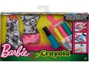 Barbie D.I.Y. Crayola batikování růžová