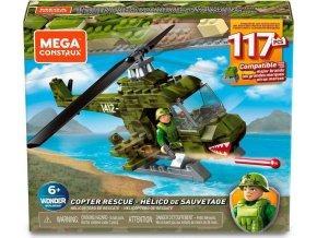 MEGA BLOKS Mega Construx Vojenská helikoptéra