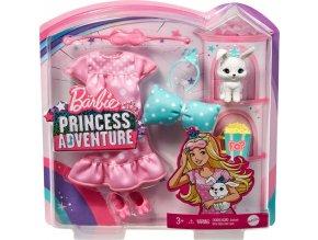 Barbie Adventure Sukně s bundičkou a zajíček