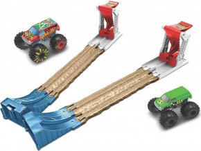 Hot Wheels® Monster Trucks Dvojitá destrukce, herní set