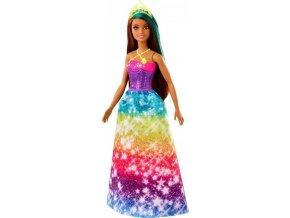 Barbie Kouzelná princezna Dreamtopia brunetka