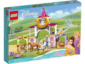LEGO® Disney 43195 Královské stáje Krásky a Lociky