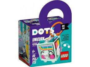 LEGO® DOTS™ 41940 Ozdoba na tašku Jednorožec