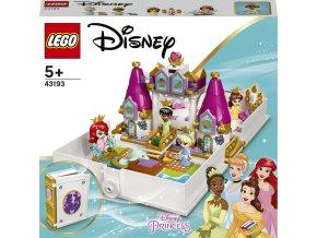 LEGO® Disney Princess™ 43193 Ariel, Kráska, PopelkaaTianaa jejich pohádková kniha dobrodružství