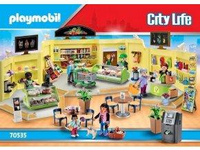 PLAYMOBIL 70535 Mega set Obchodní centrum