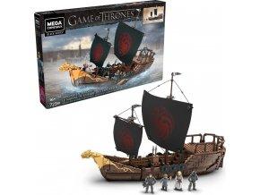 Mega Bloks Hra o trůny Targaryenská loď