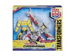 Tranformers Cyberverse Spark Armor figurka Bumblebee Ocean Storm 1