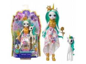 EnchanTimals Royal panenka se zviratkem Queen Unity a Stepper 1