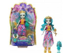 EnchanTimals Royal panenka se zviratkem Queen Paradise a Rainbow 1