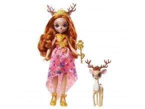 EnchanTimals Royal panenka se zviratkem Queen Daviana a Grassy 1