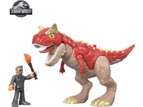 Fisher Price Imaginext CARNOTAURUS a Dr. Malcolm