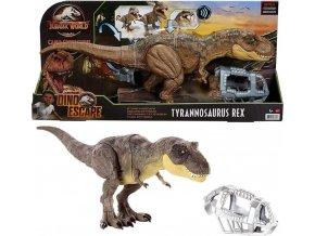Jurský svět Křídový kemp: Tyrannosaurus REX řvoucí 55cm
