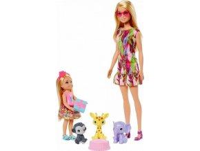 Barbie a Chelsea Ztracené narozeniny se zvířátky