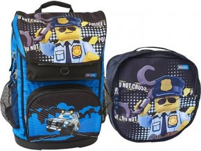 LEGO CITY Police Cop Maxi - školní aktovka, 2 dílný set