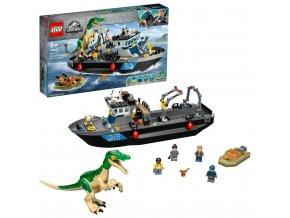 LEGO® Jurassic World™ 76942 Útěk baryonyxe z lodě