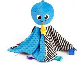 BABY EINSTEIN BABY EINSTEIN Hudební dečka mazlící Look Sea Listen™ chobotnička Opus 0m+