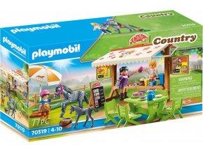 PLAYMOBIL 70519 Pony kavárna